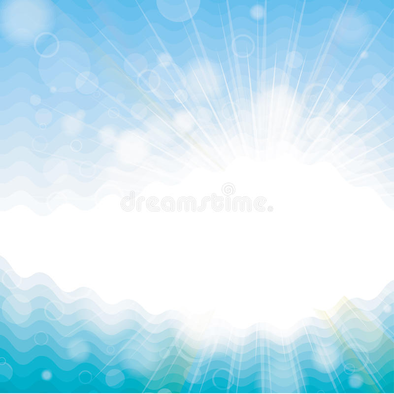Background with solar patches stock illustration
