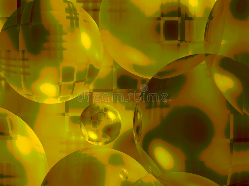Background from spheres stock photo