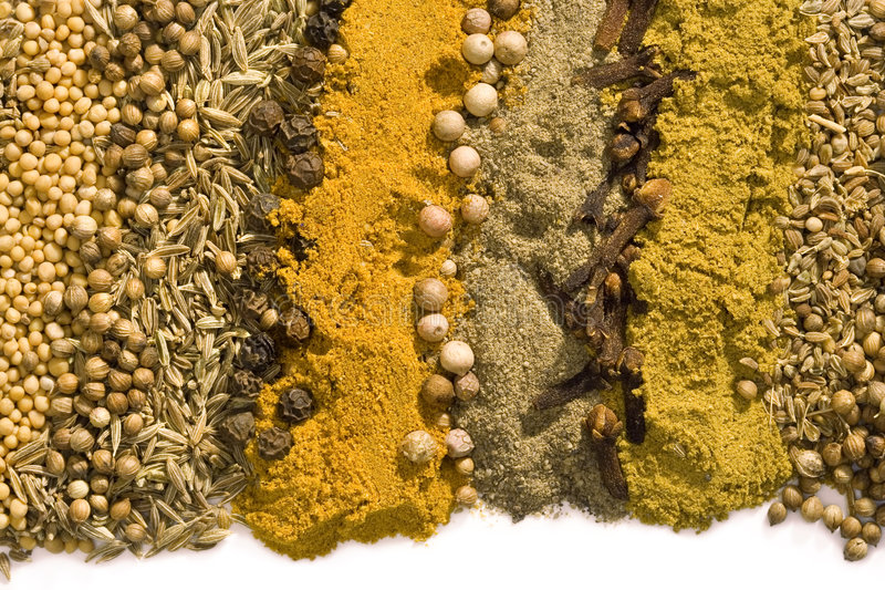 A background from spice stock photography