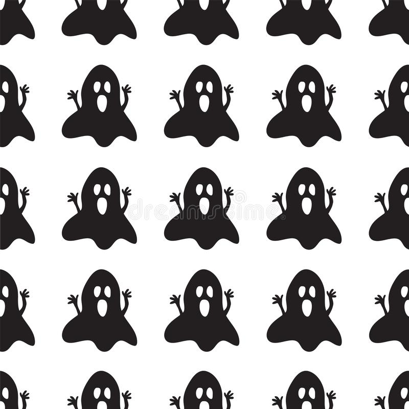 Background with spooky ghosts stock photo
