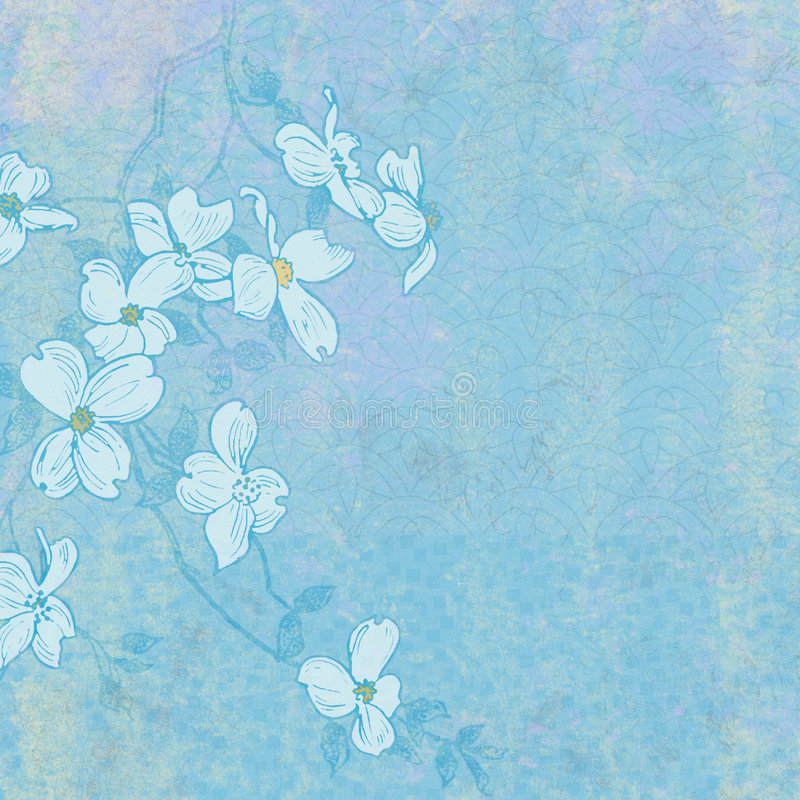 Free Background Spring Blossoms Royalty Free Stock Image - 1839926