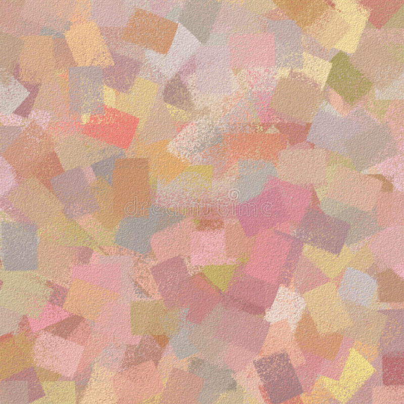 Background Spring Dabs. Textured background multi-colored paint dabs in a spring mix royalty free illustration