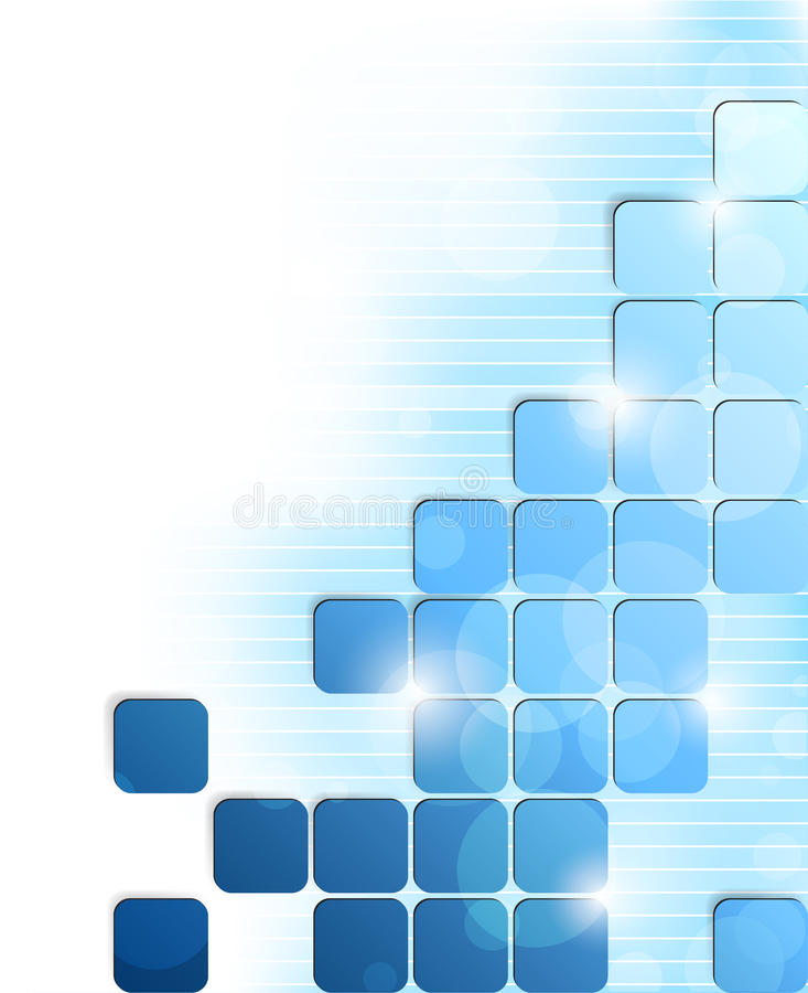Download Background with squares stock vector. Image of graphic - 26280206