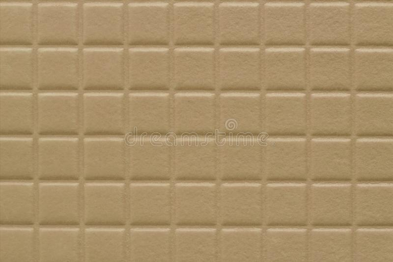 Background of squares with a soft texture, dark beige color. Notebook book wall stock images