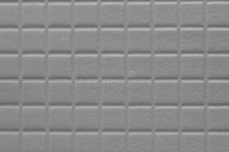 Background of squares with a soft texture, metallic gray color. Notebook book wall stock image