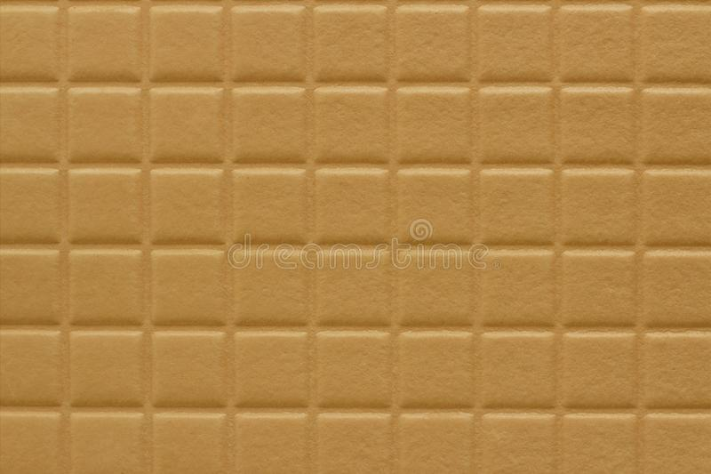 Background of squares with a soft texture of reddish gold color stock images