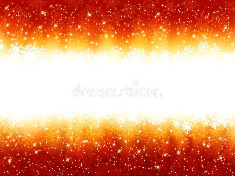 Background with stars and golden stripes. EPS 8
