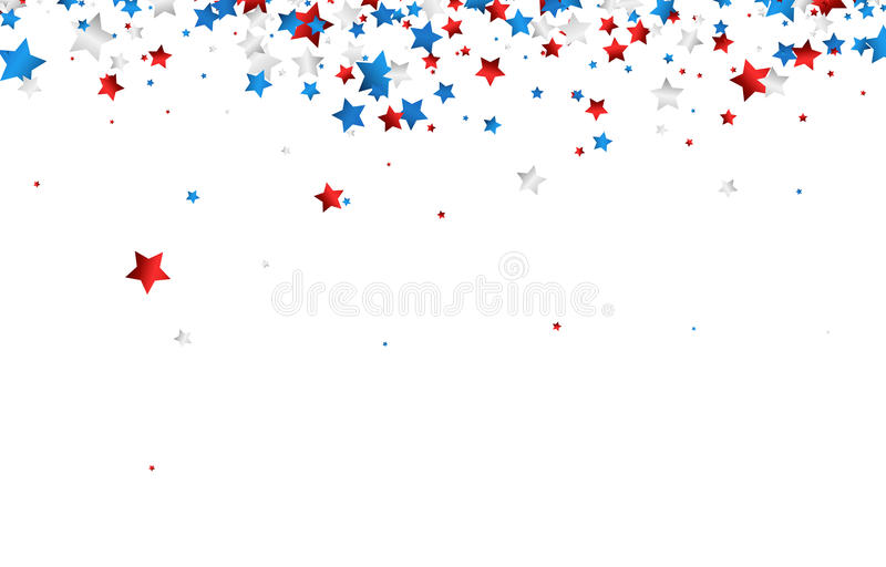 Background with stars. royalty free illustration
