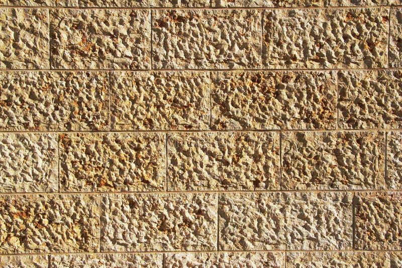Background of Stone Blocks Wall