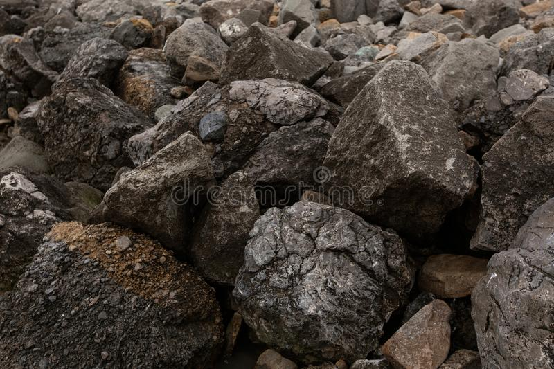 Background of stones royalty free stock photos