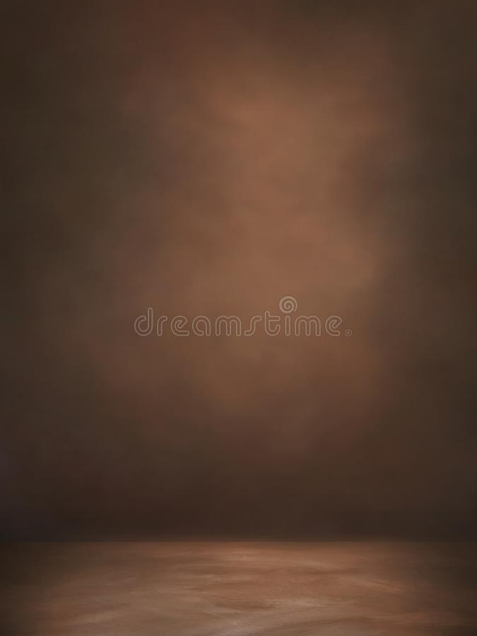 Background Studio Backdrops. Black classic portrait studio backgroun royalty free stock photo