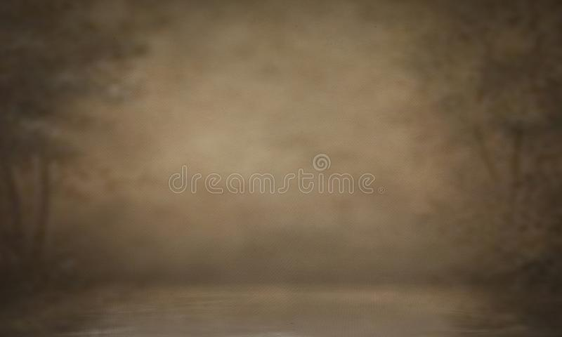 Photo backdrop background studio photography. Black classic portrait studio background royalty free stock photography