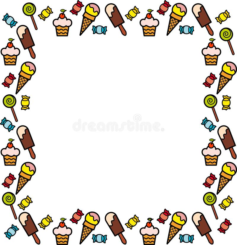 Download Background With A Sweetness Stock Vector - Image: 19942845