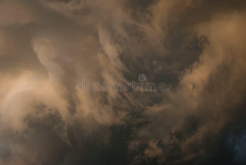 Background symbolizing the power of the elements. stock image