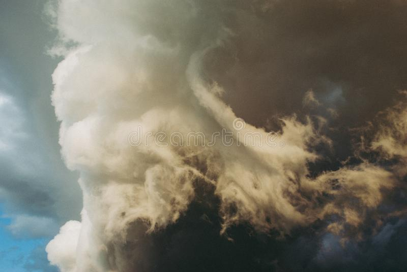 Background symbolizing the power of the elements. royalty free stock images