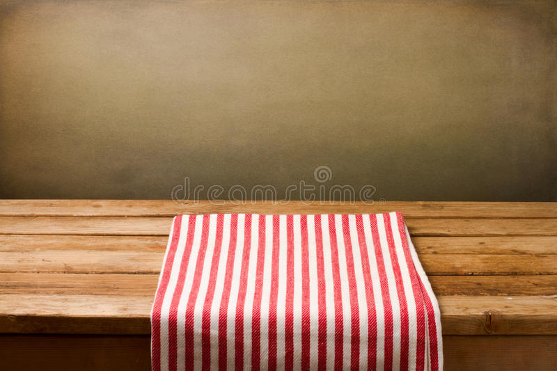 Background With Tablecloth Royalty Free Stock Photos