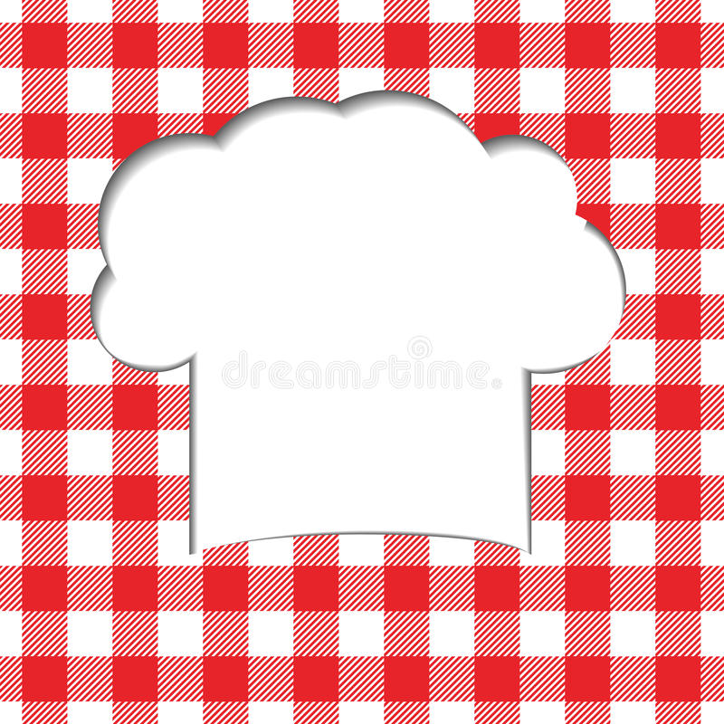 Download Background With Tablecloth Stock Vector. Image Of Design   44901257