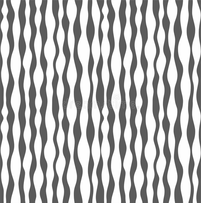 Background, teardrop-shaped stripes, seamless, monochromatic. vector illustration