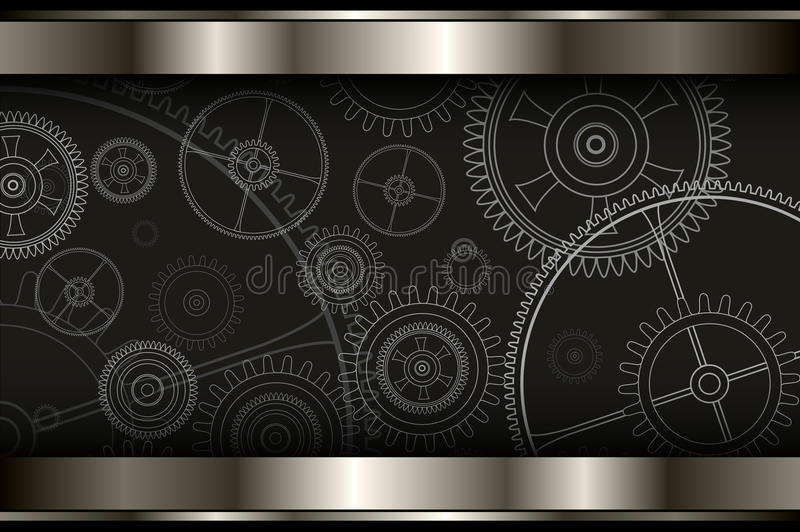 Download Background Technology Metallic Stock Vector - Illustration of cover, polished: 83701413