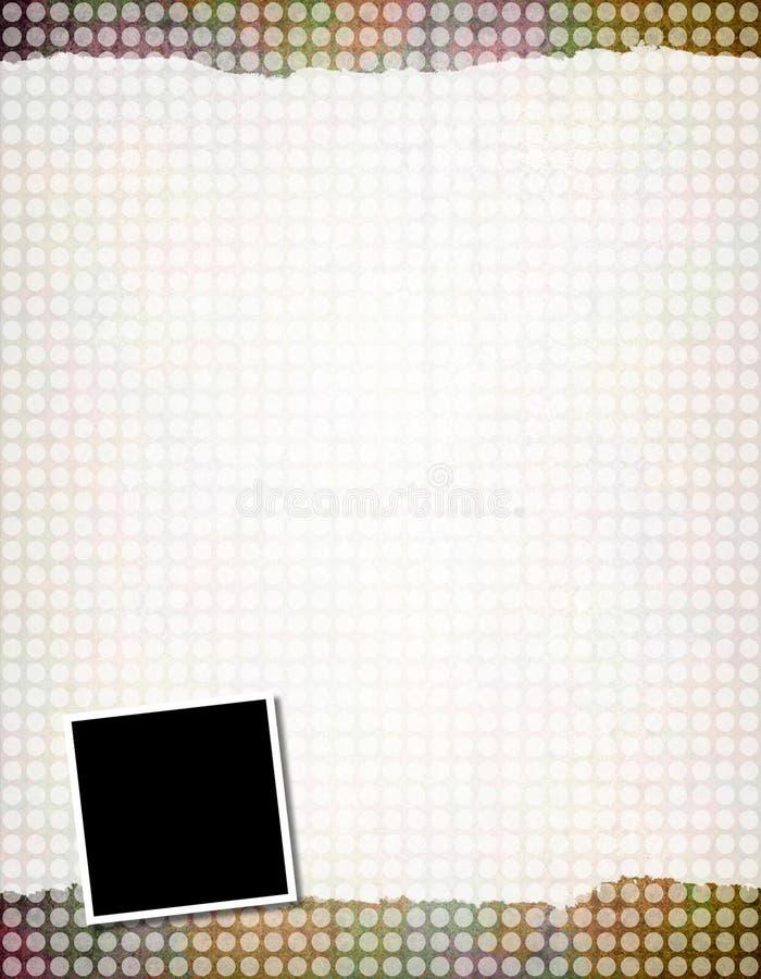 Download Background Template stock illustration. Image of scrapbook - 11173570