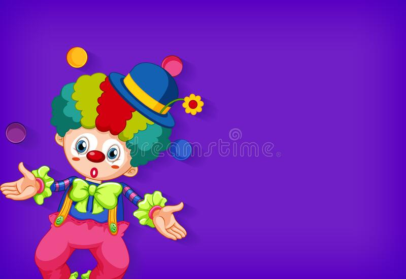 Funny Circus Clown Juggling Balls On Unicycle. Vector Cartoon.. Royalty Free  Cliparts, Vectors, And Stock Illustration. Image 97073008.
