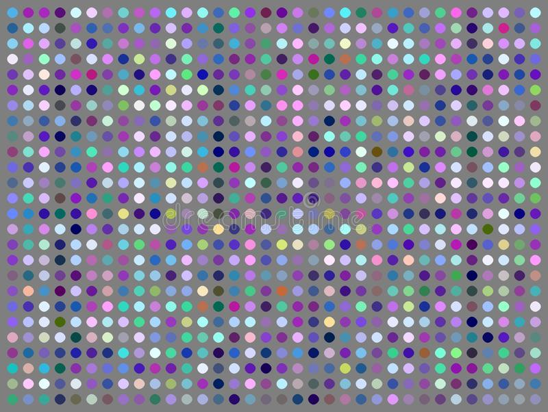 Gray blue pink violet dots geometric pattern. Creative mosaic background. royalty free stock photos