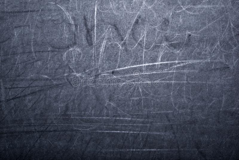 Background and texture of black old school board royalty free stock photo
