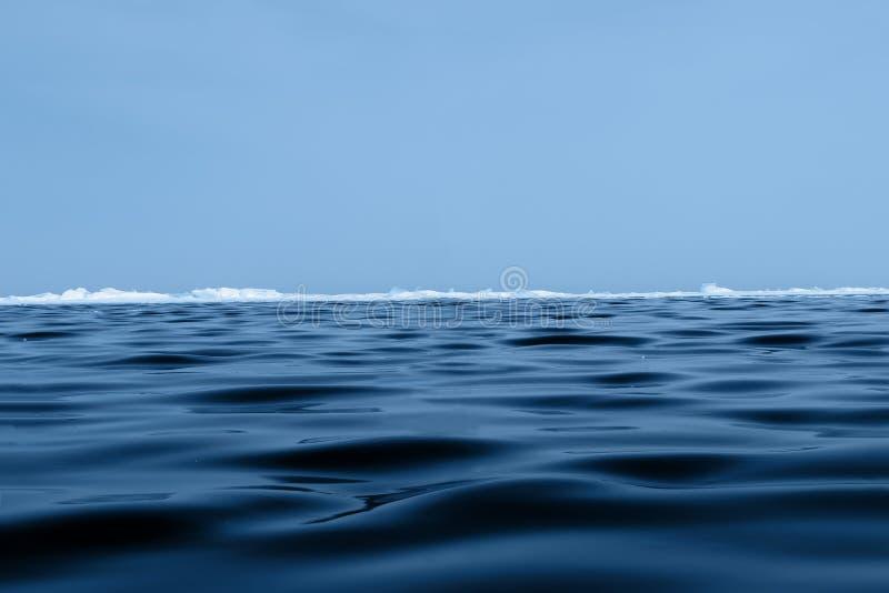 Background Texture Of Blue Wavy Ice Of Lake Baikal With Hummocks On The Horizon And Blue Sky Stock Image Image Of Creative Horizon 169505511