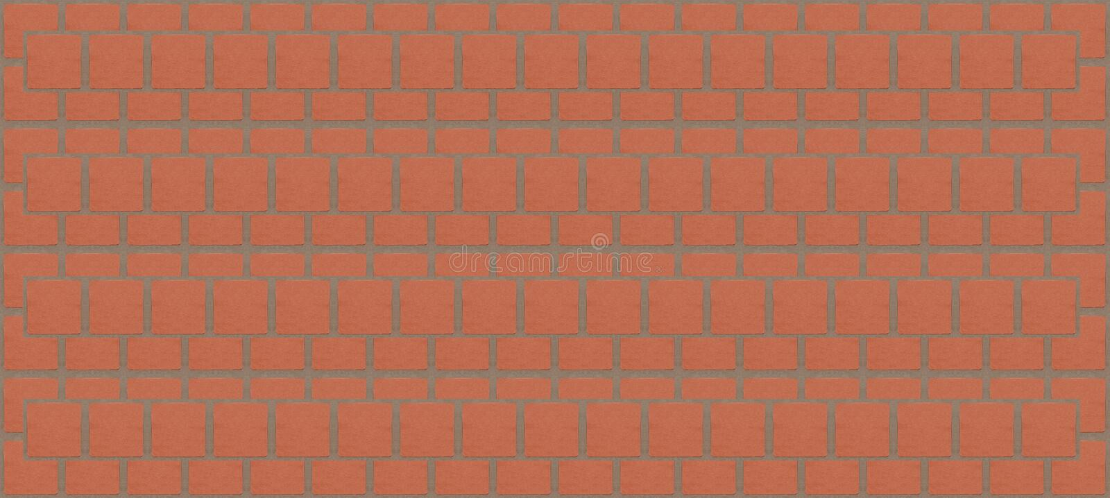Background texture brick wall pattern realistic square blocks with cement endless row royalty free stock photos