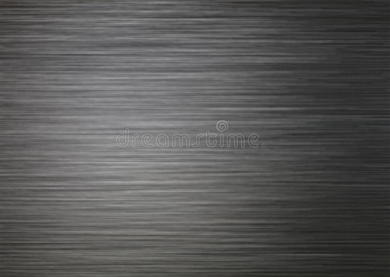 Background texture of brushed dark silver metal stock images