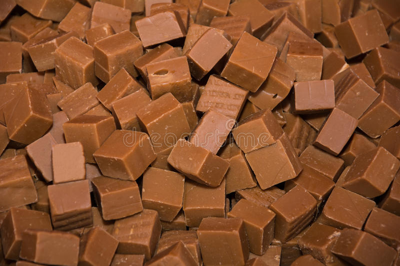 Background texture of caramel toffee stock photo
