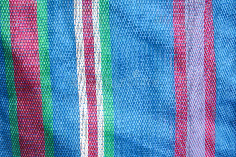 Background texture of colorful fiber bag royalty free stock images