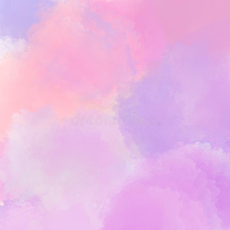 Background texture. Elegant woman fashion illustration. Abstract backgrounds red, pink, purple, orange color. Looks like sky. stock illustration