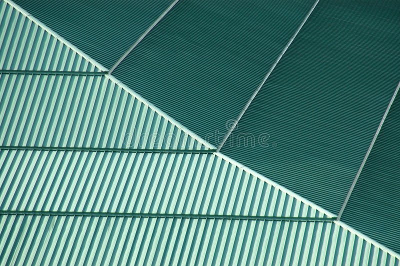 Background texture of a green roof stock photos