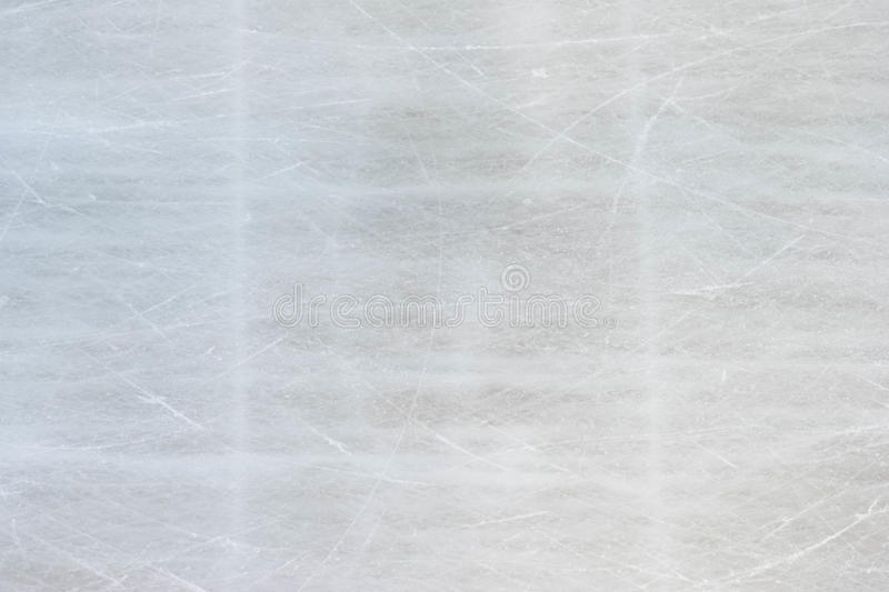 Background texture of ice skating rink with scratches royalty free stock images