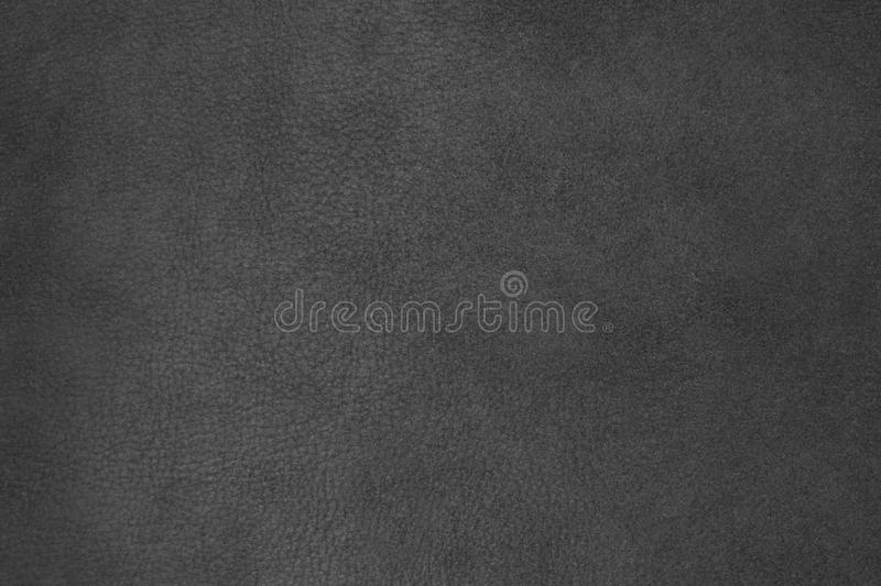 Background, texture, leather black suede stock image