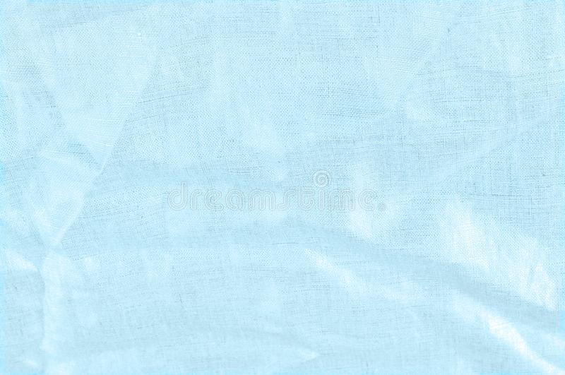 background texture, linen cloth of blue sky with metallic luster stock photos