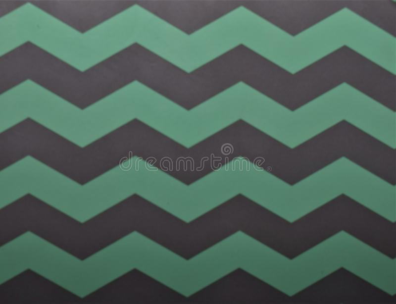 Background texture many zig zag pattern, green and gray color, horizontal line. Simple background texture many zig zag pattern, green and gray color, horizontal royalty free stock photos
