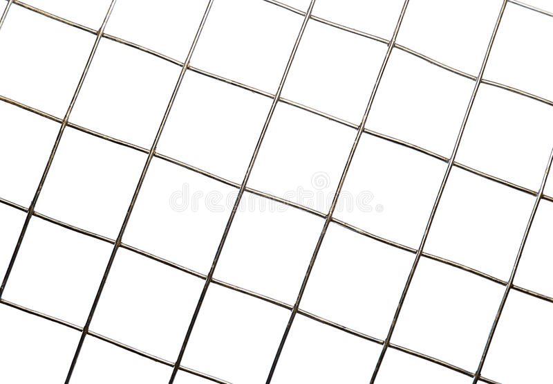 Background texture of metal mesh cells isolated royalty free stock photo