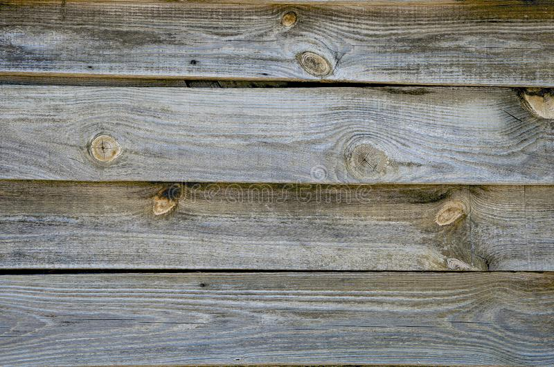 Background textures of old boards with shabby and cracked paint. Retro wooden planks. Closeup texture royalty free stock photo