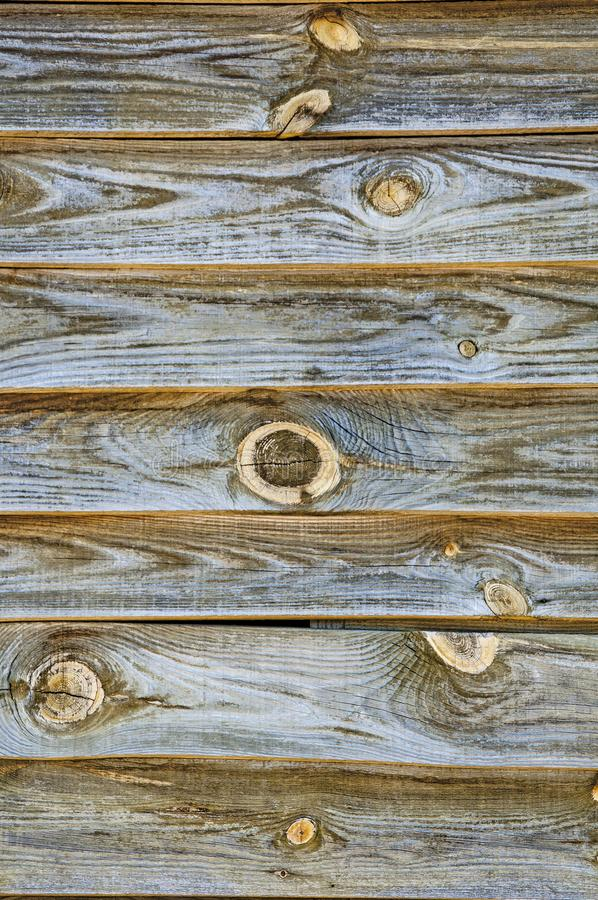 Background textures of old boards with shabby and cracked paint. Retro wooden planks. royalty free stock photos
