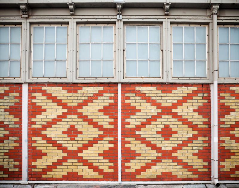 Download Background Texture Of An Old Ornamental Brick Wall Stock Image - Image: 22773961