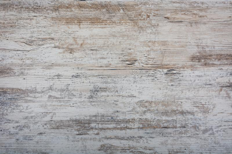 Background texture of old shabby light wood, boards royalty free stock photos