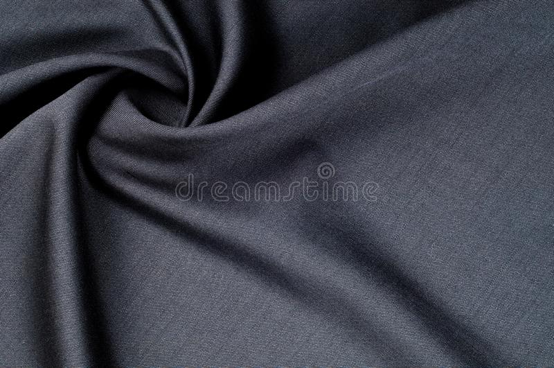 Background texture, pattern. cloth wool suit gray. A genuine fla royalty free stock photo
