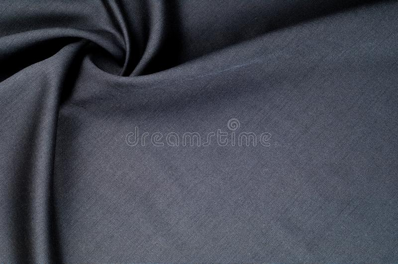 Background texture, pattern. cloth wool suit gray. A genuine fla royalty free stock photography