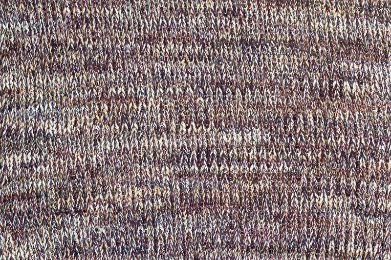 Background texture of pattern knitted fabric made of cotton or w royalty free stock photography