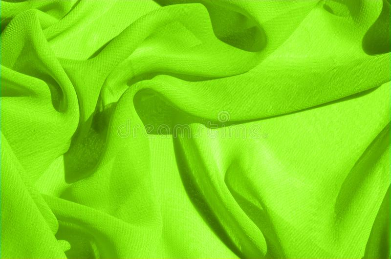 Background texture pattern. Lime Solid Silk Faile. Presenting th. Is high quality silk faille made specifically for Mood This gorgeous, medium-weight fabric royalty free stock photos