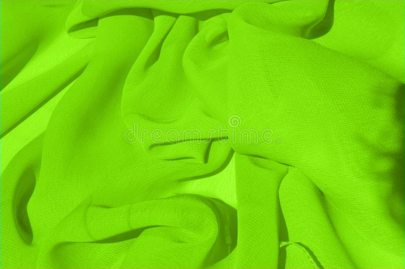 Background texture pattern. Lime Solid Silk Faile. Presenting th. Is high quality silk faille made specifically for Mood This gorgeous, medium-weight fabric stock photos