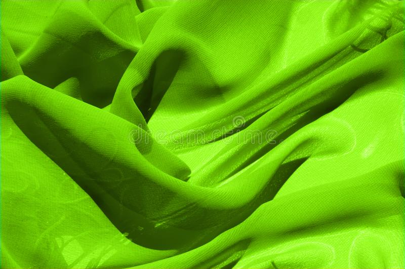 Background texture pattern. Lime Solid Silk Faile. Presenting th. Is high quality silk faille made specifically for Mood This gorgeous, medium-weight fabric stock image