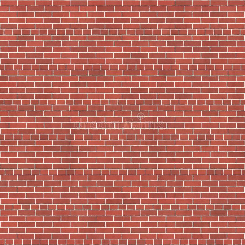 Background texture with red brick wall royalty free illustration